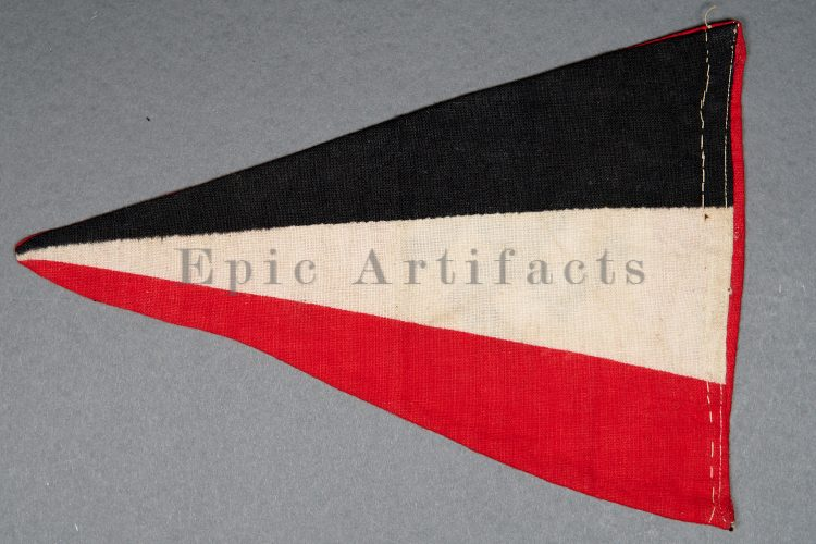 Small NSDAP and Tricolor Pennant
