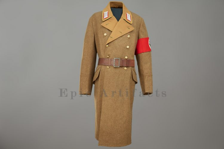 Political Leaders Greatcoat 2nd Pattern Reich Level