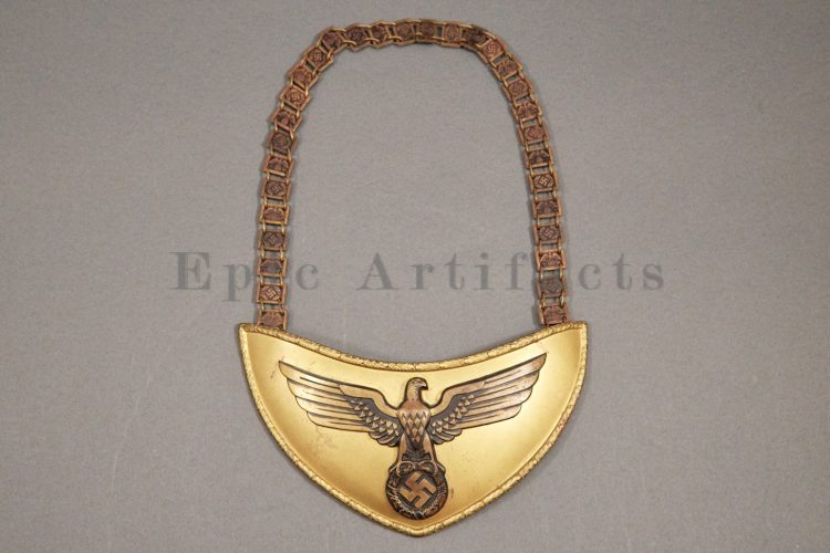NSDAP Political Leaders Gorget