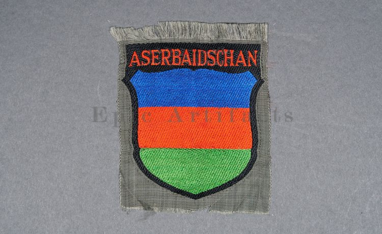 Aserbaidschan Volunteer Sleeve Shield