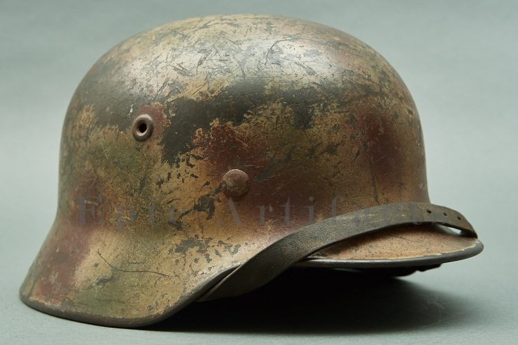 Normandy Camo Helmet