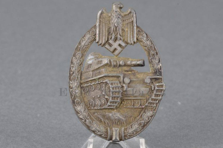 Hermann Aurich Panzer Assault Badge