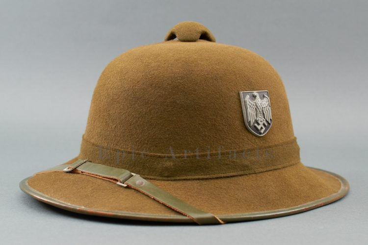 Army (Heer) DAK Tropical Pith Helmet – 2nd Pattern