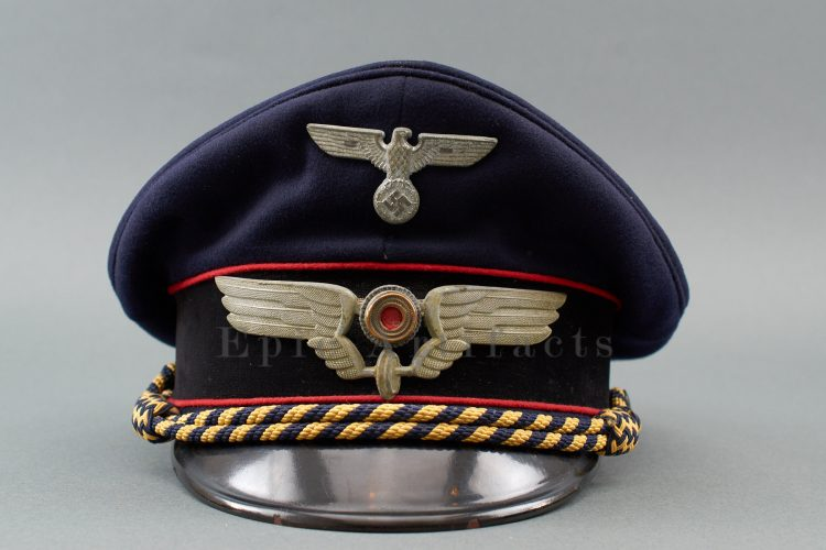 Railway Official Visor