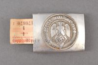 Hitler Youth Buckle - RZM Tag
