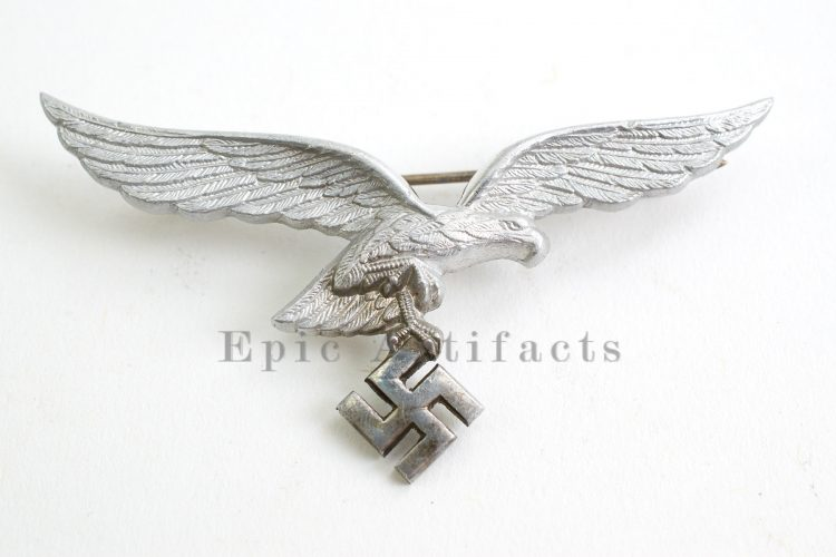 Luftwaffe Officer Metal Breast Eagle