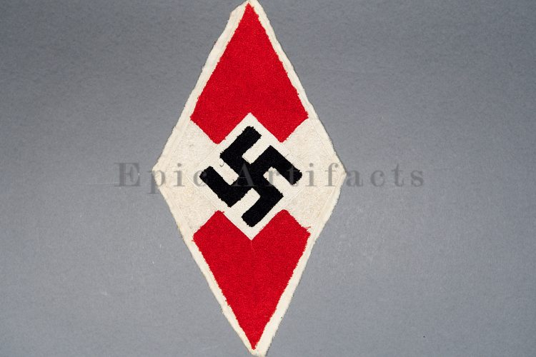 Chain stitched Hitler Youth diamond