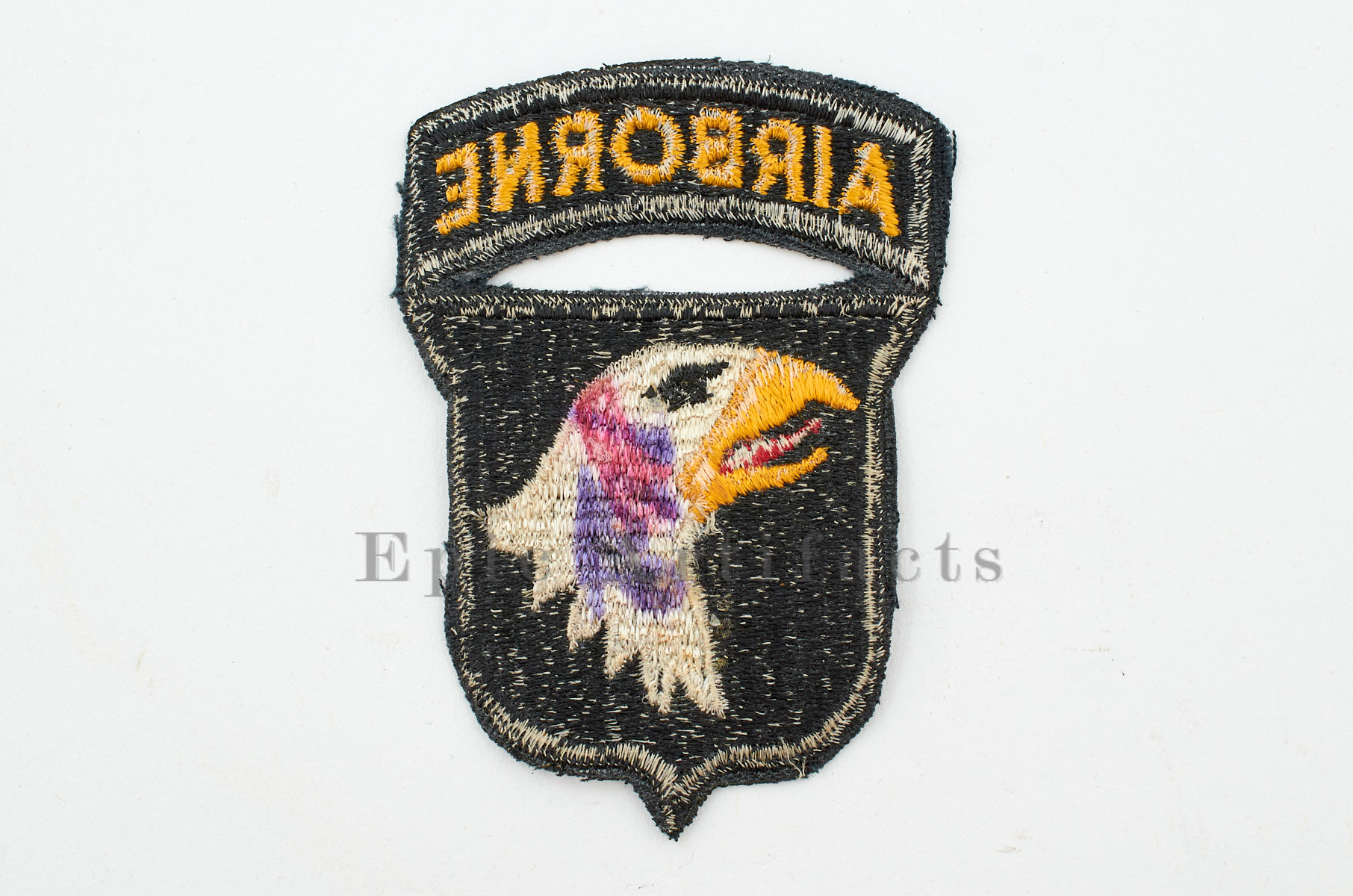 WWII US Army 101st Airborne Patch, Type 7