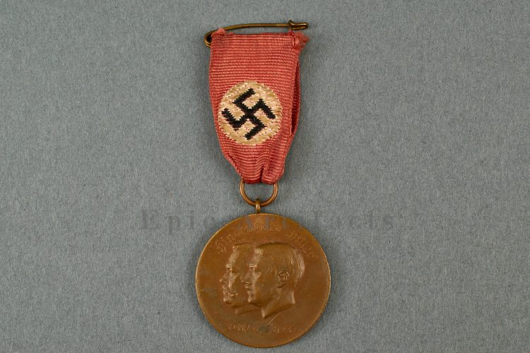 hindenburg hitler commemorative medal
