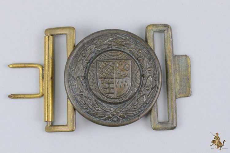 Bavarian Fire Defense Buckle