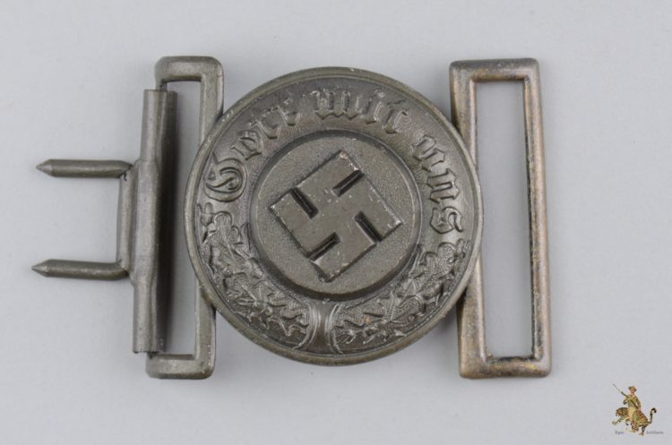 German Police Officer's Buckle