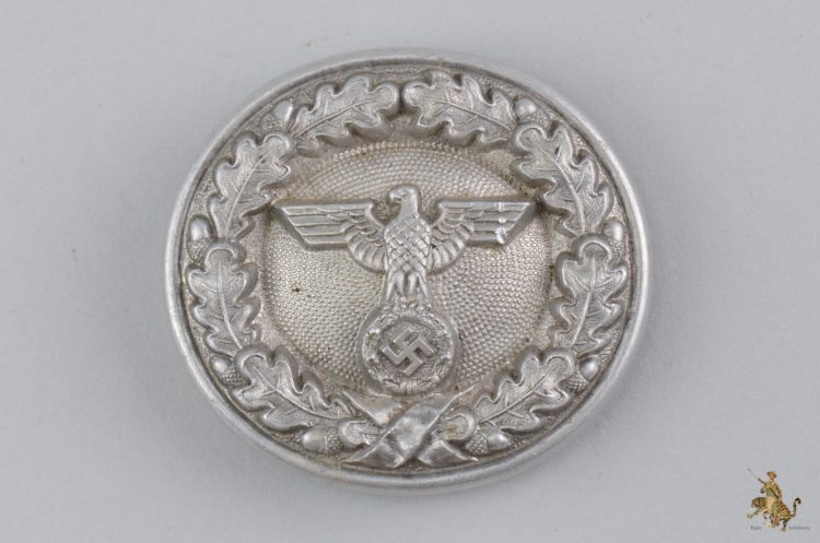 German Forestry Service Officials Buckle