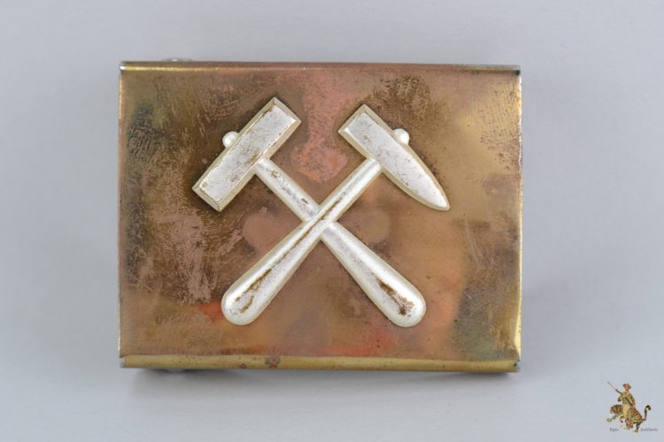 German miners belt buckle