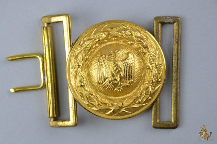 German Penal Administration Buckle