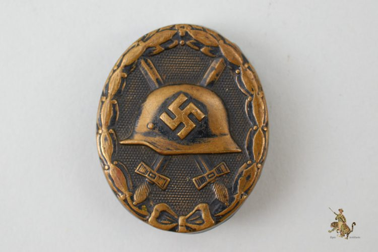 Black Wound Badge L/11 Deumer