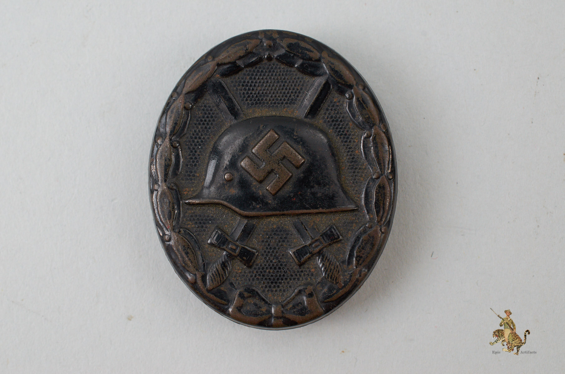 Black Wound Badge EH 126