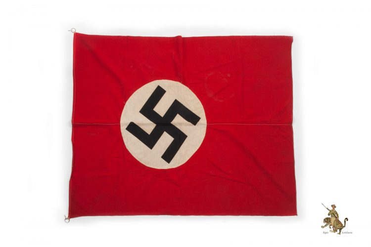 Small Double Sided NSDAP Banner