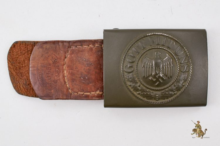 Army Buckle with Tab