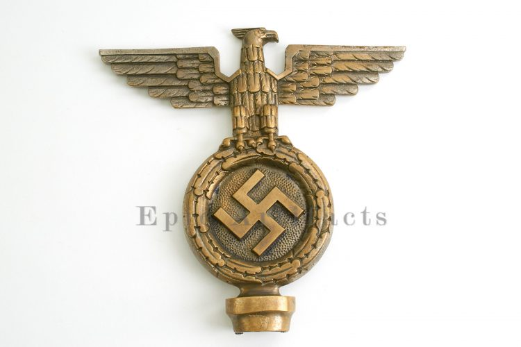Early Brass NSDAP Pole Topper