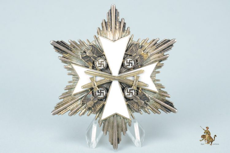 German Eagle Order Grand Cross Breast Star