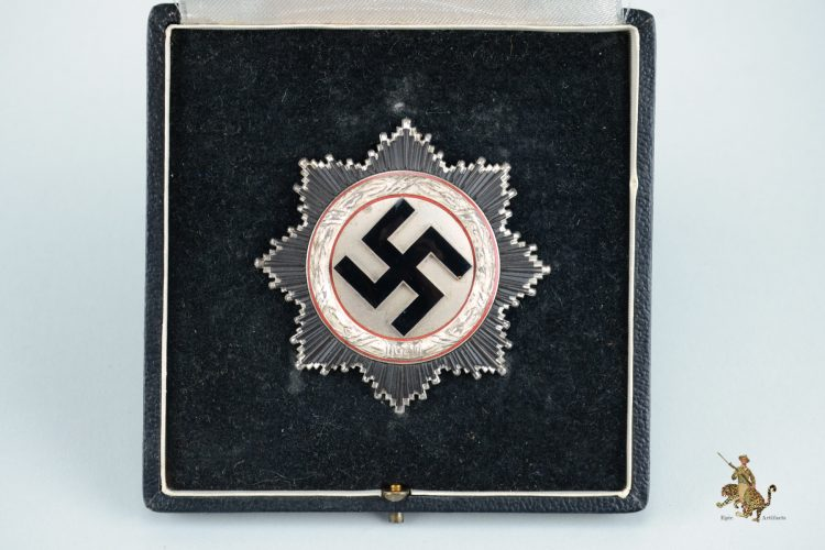Cased German Cross in Silver