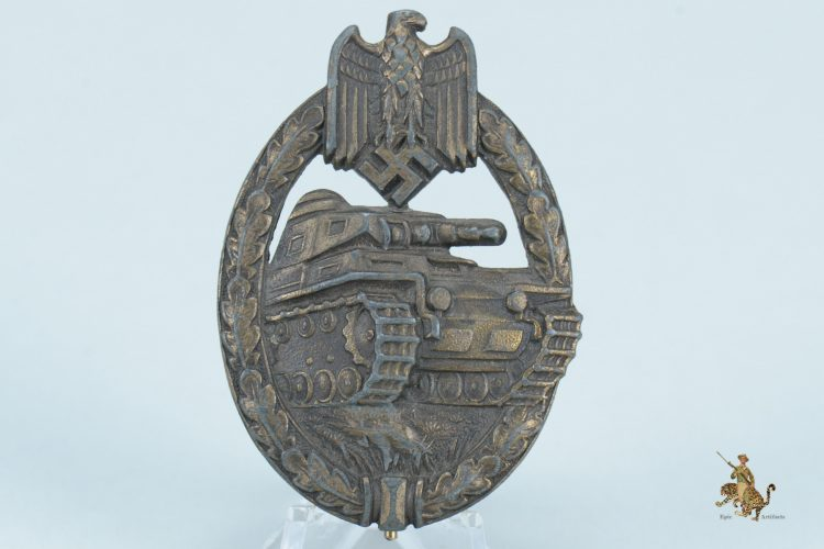 Juncker Panzer Badge in Bronze