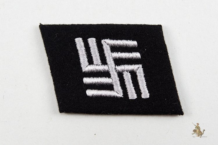 SS Temporary Camp Guard Collar Tab