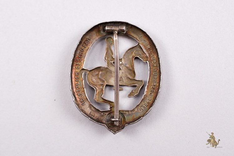 German Horsemans Badge