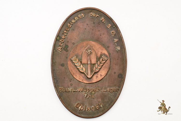RAD Bronze Plaque
