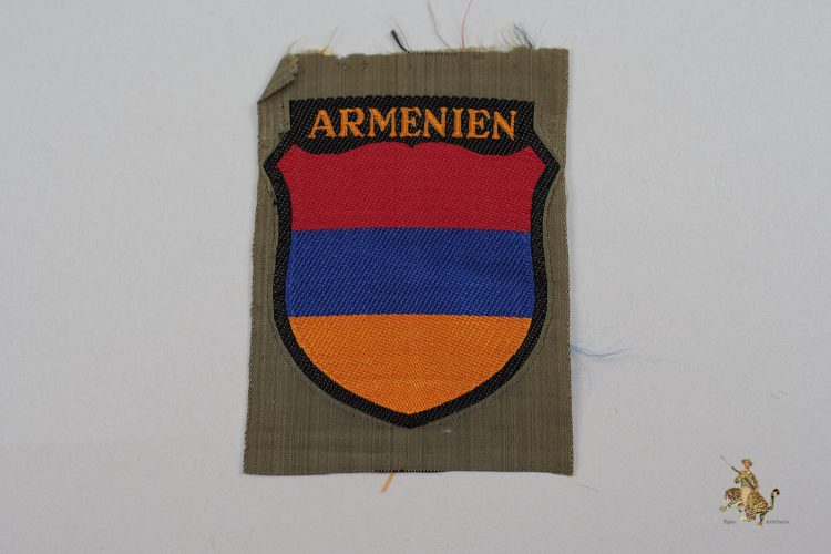 Armenien Volunteer Sleeve Shield