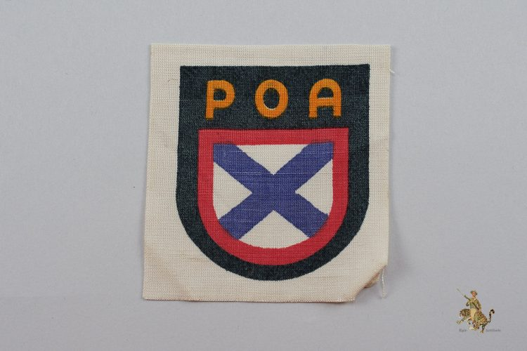 Russian POA Volunteer Sleeve Shield