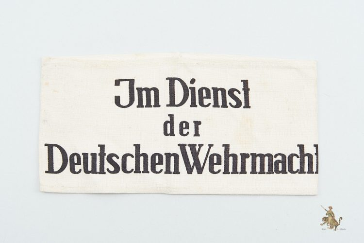 Civilian Service Wehrmacht Armband