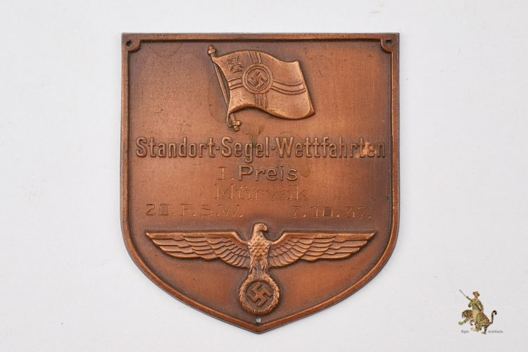 Kriegsmarine Award Plaque