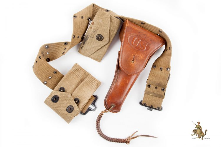 WWII US Pistol Belt