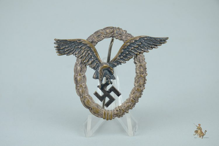 Thin Wreath Assmann Pilot Badge