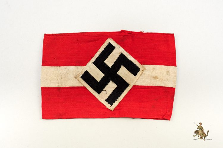 Hitler Hitler Youth Armband Worn Example