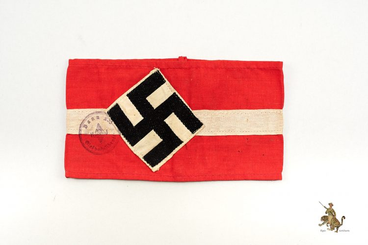 Hitler Youth Armband with Stamp