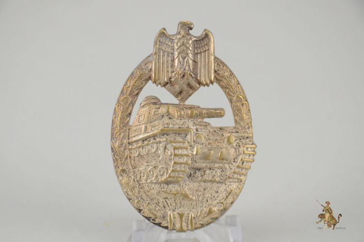 Silver Tombak Wurster Panzer Assault Badge