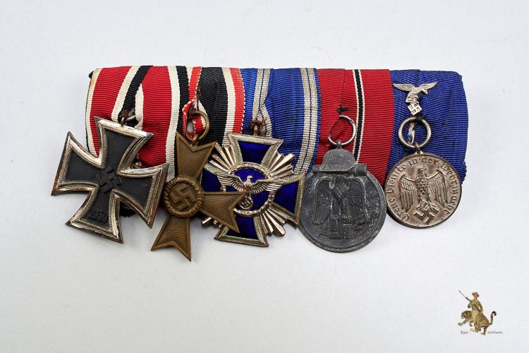 Five Place Medal Bar