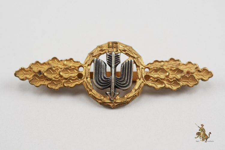 Short Range Fighter Clasp in Gold