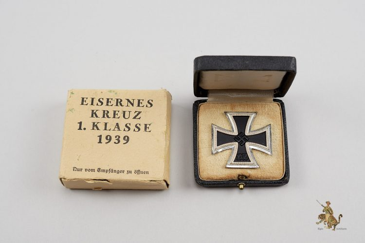 Iron Cross 1st Class with Case & Carton