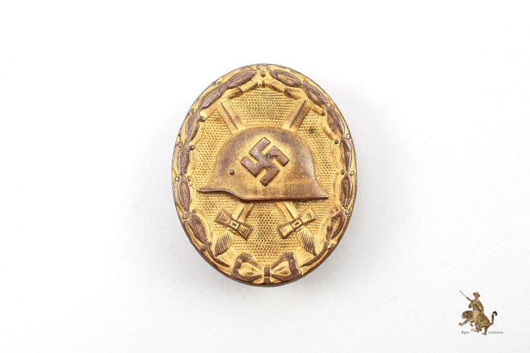 Gold Wound Badge L/18