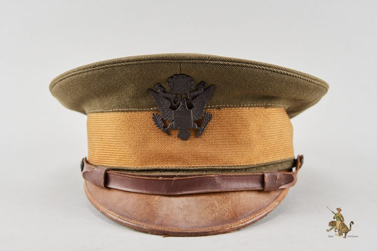 American Officers World War 1 Visor