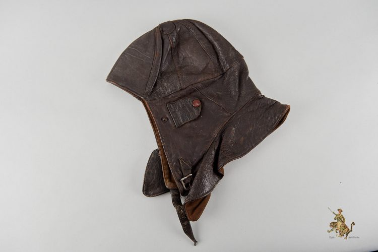 Japanese Leather Flight Cap