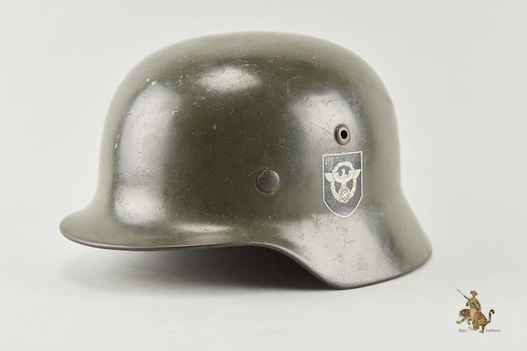 M35 SE66 Double Decal Police Helmet