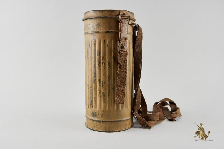 Tropical Camouflage Gas Mask Canister